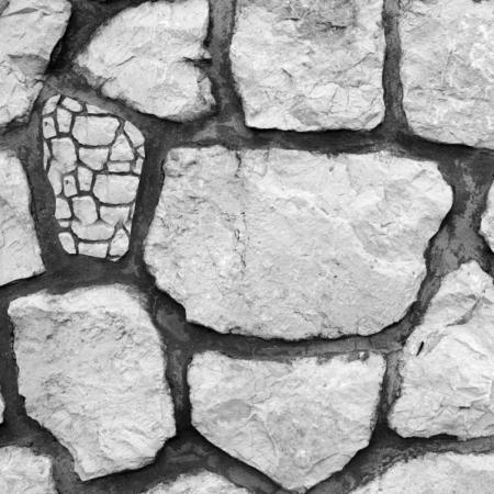 Backdrop: Naturstein schwarz / weiß