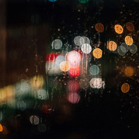 Bokeh Backdrop: Rainy Romantic