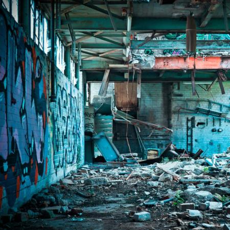 Backdrop: Alte Fabrik