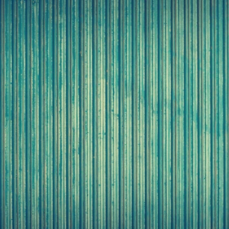 Backdrop: Metalllamellen blau